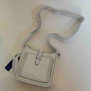 Rebecca Minkoff Mini Feed Bag Optic White